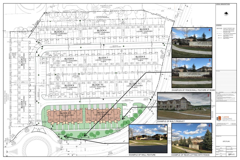 Condominium Townhome Concept Plan 2